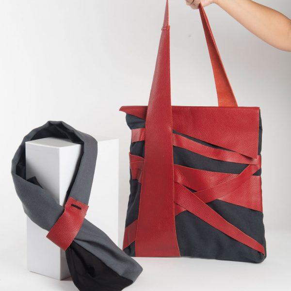 Omotesando borsa + sciarpa loretta