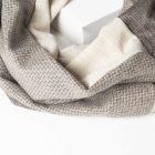 Borsa TRA corteccia + sciarpa + collana