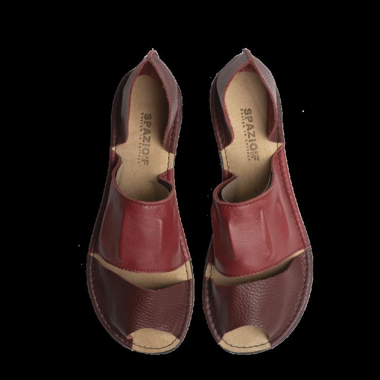 Sandalo SOTTOPELLE semi-chiuso